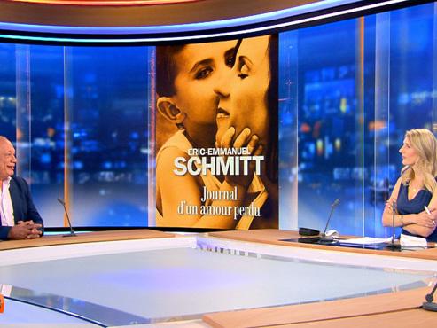 """Éric-Emmanuel Schmitt sur son nouveau livre: """"J'avais besoin d'écrire des choses intimes"""" (vidéo)"""