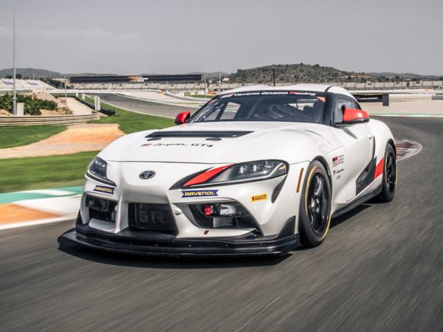 Un tour de piste à bord de la Toyota GR Supra GT4