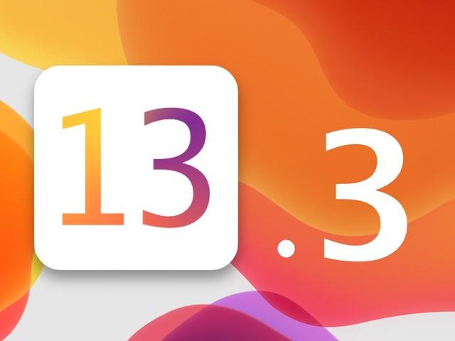 iOS 13.3 serait disponible cette semaine