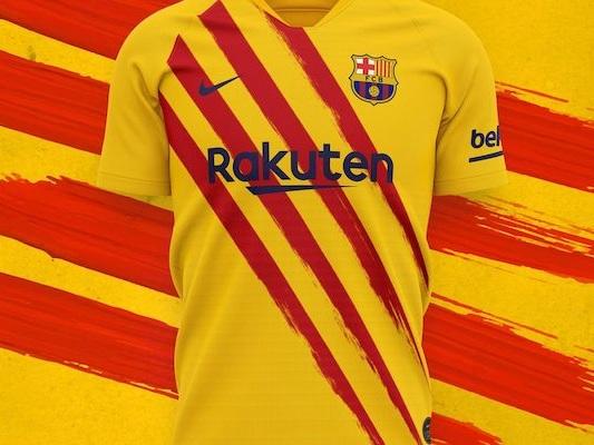 FC Barcelone dévoile le maillot 4th aux couleurs de la senyera
