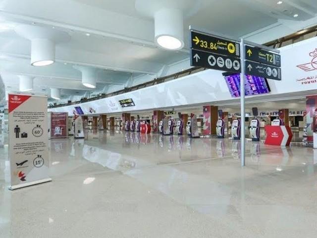 La toile réagit à la fin des fiches dans les aéroports