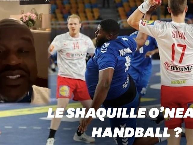 Qui est Gauthier Mvumbi, étoile montante du handball félicitée par Shaquille O'Neal