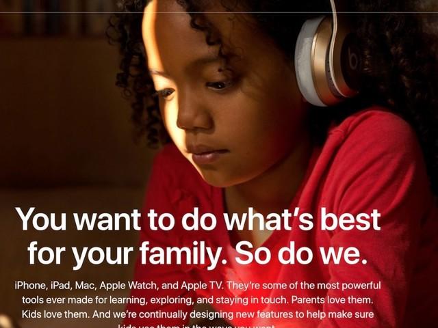 Apple donne des conseils et astuces aux parents avec une nouvelle rubrique sur son site