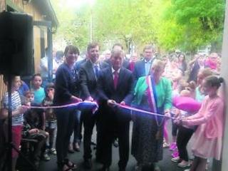 Viterbe. L'école publique inaugurée