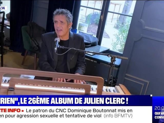 """""""Terrien"""", le 26ème album de Julien Clerc ! - 11/02"""