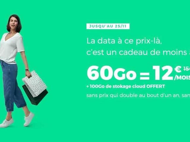 Bon plan : le forfait RED SFR 60 Go à 12€ par mois à vie est prolongé