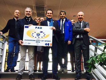 Pau labellisée Ville Européenne du Sport 2018