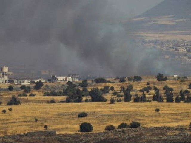 Israël cible des positions militaires syriennes