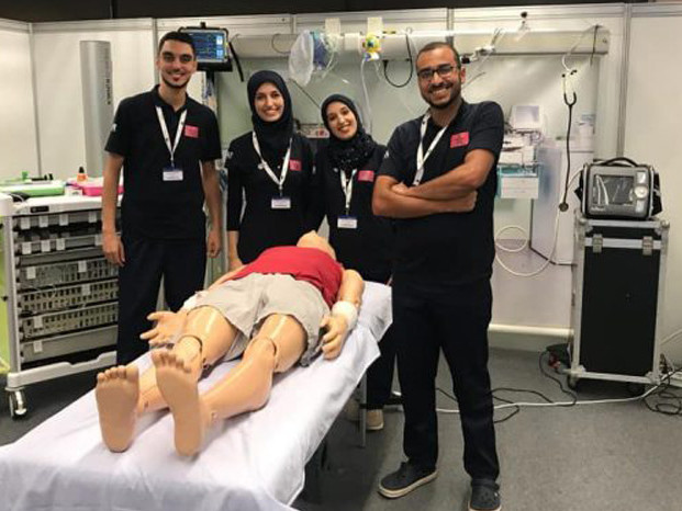 Des étudiants marocains en médecine s'imposent à la SIMCUP 2019