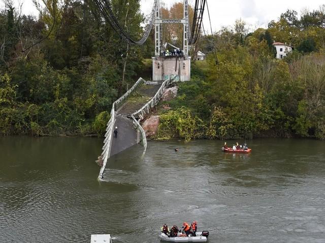 Le camion tombé avec le pont de Mirepoix-sur-Tarn pesait le double du poids autorisé