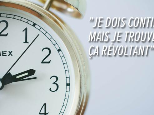 Sandra devra travailler 1 heure de plus chaque semaine chez BNP Paribas Fortis, SANS compensation salariale: est-ce légal?