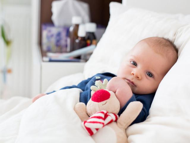 Bronchiolite : la vidéo d'un bébé fait le buzz