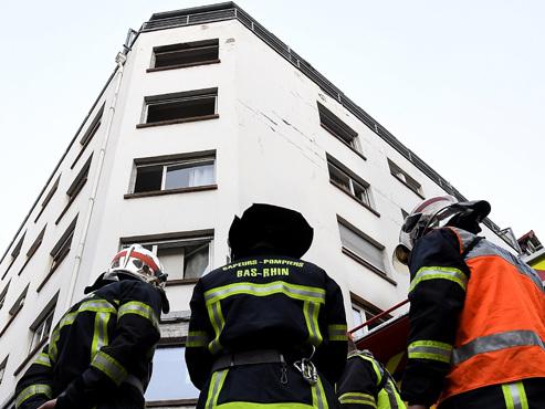Drame à Strasbourg: cinq personnes décèdent dans l'incendie d'un immeuble