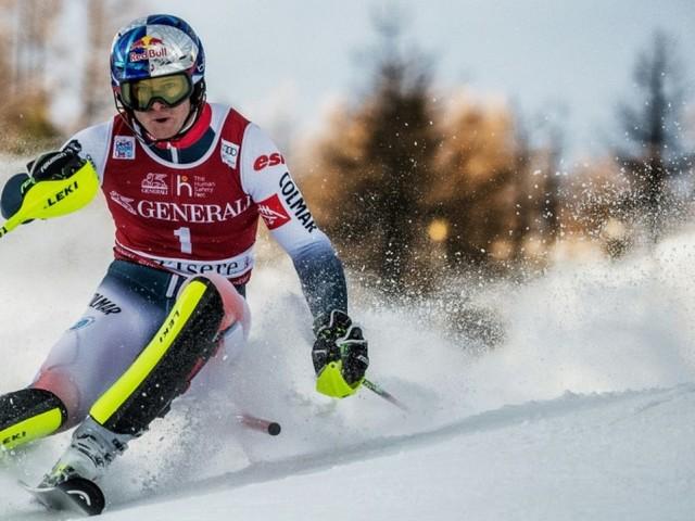 Ski: Alexis Pinturault remporte son premier slalom depuis cinq ans à Val d'Isère