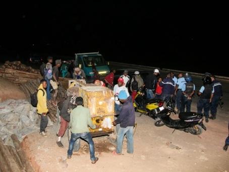 Aux portes de la capitale malgache, la colère bout dans les rizières