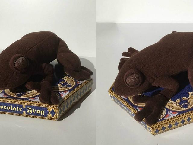 [TOPITRUC] Une peluche d'une grenouille en chocolat dans Harry Potter
