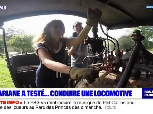 Ariane a testé une locomotive à vapeur !