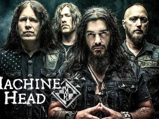 Machine Head : Ten Ton Hammer (clip live officiel)