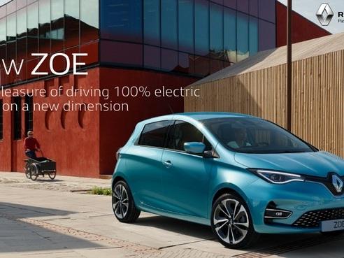 Renault Zoe 2019 : nouveau design et 390 km d'autonomie