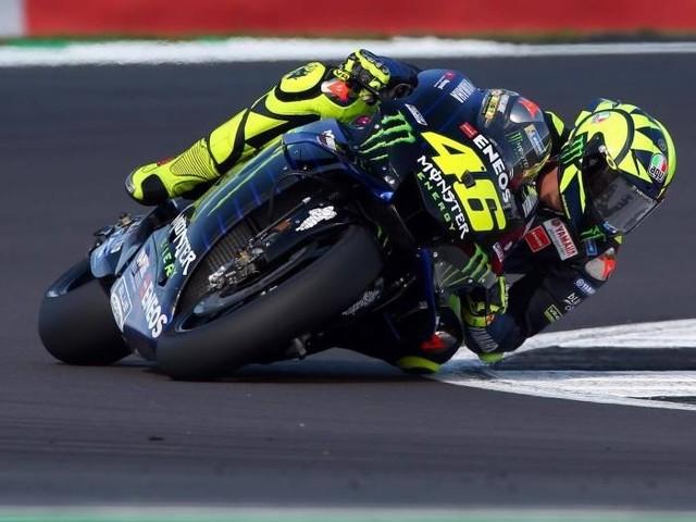 Marquez encore en pole en Grande-Bretagne devant Rossi