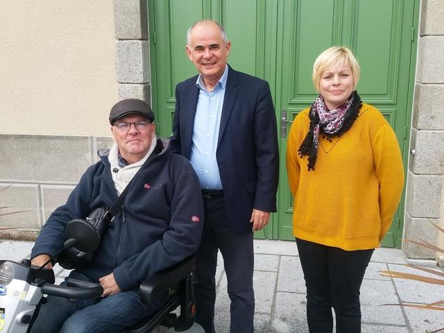 Elections municipales à Dol-de-Bretagne: le maire Denis Rapinel se représente