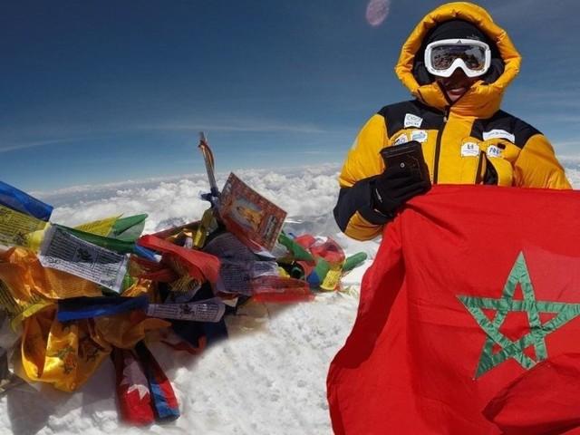 Après l'Everest, Bouchra Baibanou s'attaque au dernier plus haut sommet du monde