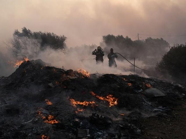 Les incendies en Grèce enfin maîtrisés après 100.000 hectares partis en fumée