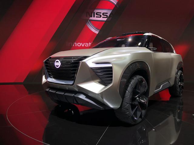 Diaporama : à Détroit, Nissan dévoile le X-Motion Concept, toutes nos photos