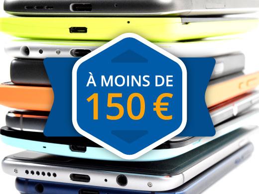 Les meilleurs smartphones à moins de 150 euros (2019)