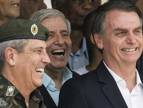 Dossier Brésil. Bolsonaro: un gouvernement militaire ou paramilitaire? Ainsi que la place du fondamentalisme