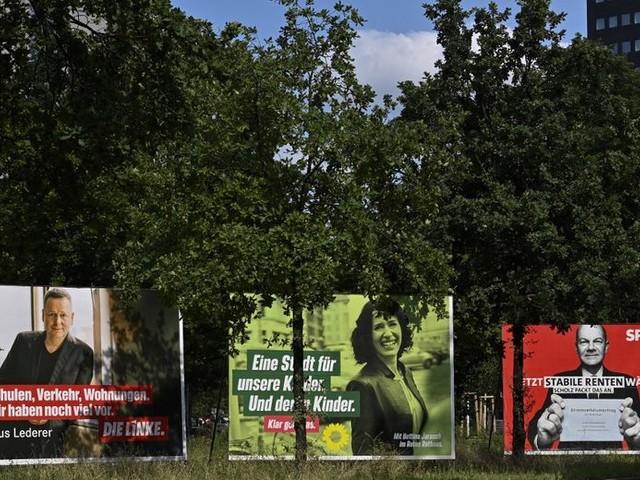 La rude campagne électorale allemande sur les réseaux sociaux