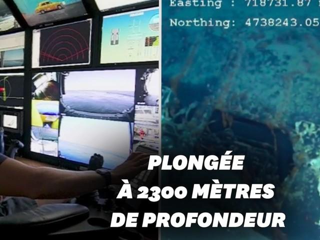 La découverte du sous-marin La Minerve comme si vous étiez