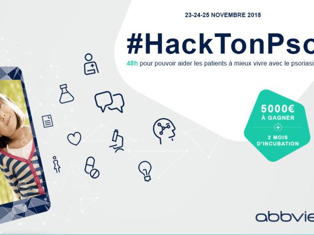 #HackTonPso : premier hackathon dédié au Psoriasis par AbbVie