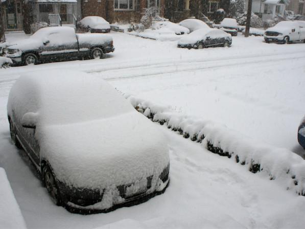 On a testé une tempête de neige à Toronto !