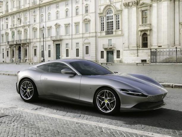 Ferrari Roma : un coupé 2 plus à moteur V8 turbo central avant de 620 ch
