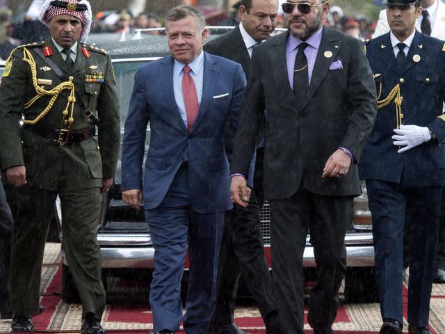 Le roi Abdallah II de Jordanie effectue une visite d'amitié et de travail de deux jours au Maroc