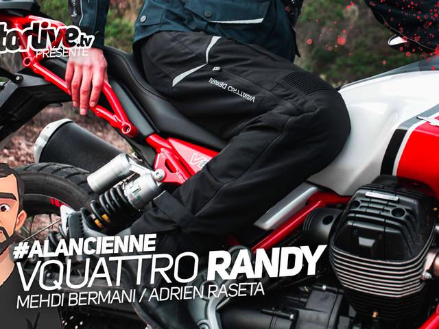 Vidéo essai Vquattro Randy : sur-pantalon moto pour sur-rouleurs !