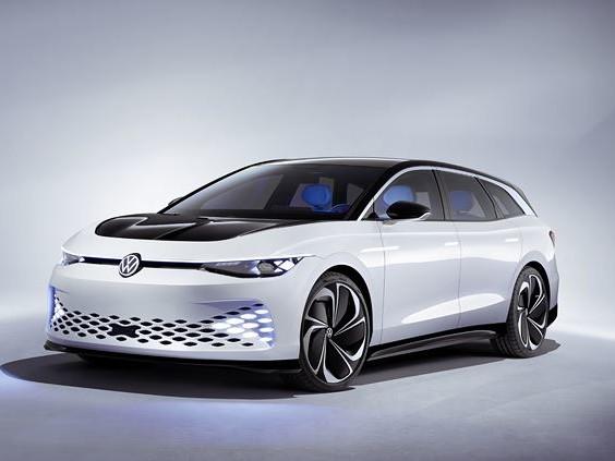 Le concept-car électrique Volkswagen ID. Space Vizzion offre l'espace d'un SUV