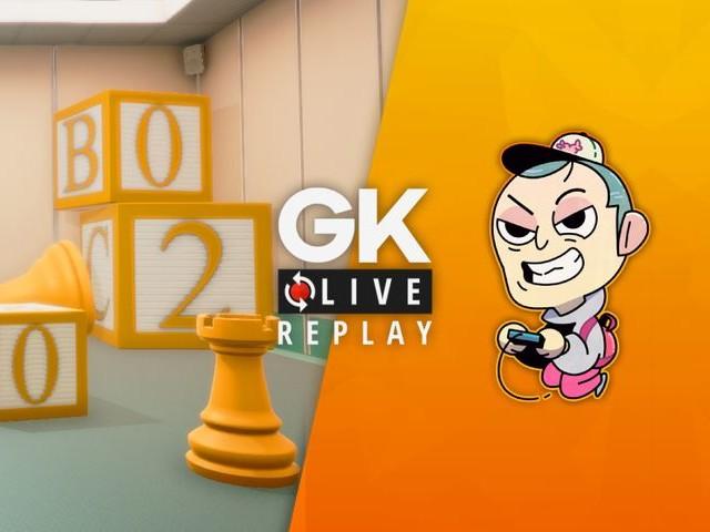 Gk live (replay) - Noddus remet les choses en perspective dans Superliminal et flotte sur le city-builder Flotsam