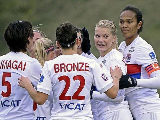 D1 féminine : neuf journées, neuf victoires pour les Lyonnaises