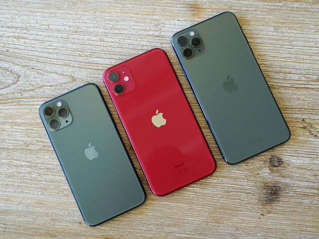 Sans surprise, l'iPhone 11 surpasse tous les autres modèles d'Apple