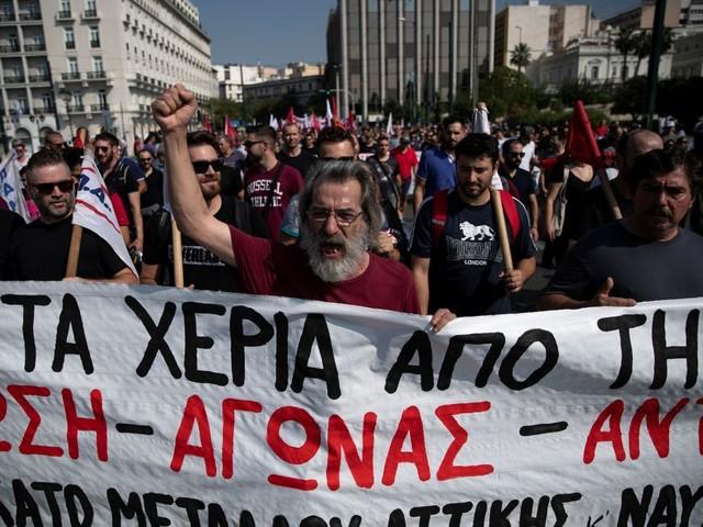 Grèce: Grève dans le secteur privé contre la réforme du Code du travail