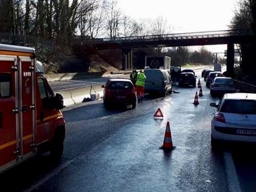 Val-d'Oise. Deux blessés dans un suraccident sur la D14