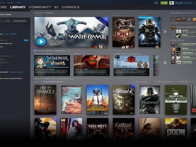 Steam : refonte complète de l'interface de la bibliothèque, voici un premier aperçu