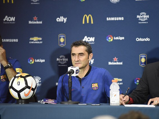 Barça : Valverde n'est pas fataliste pour Neymar