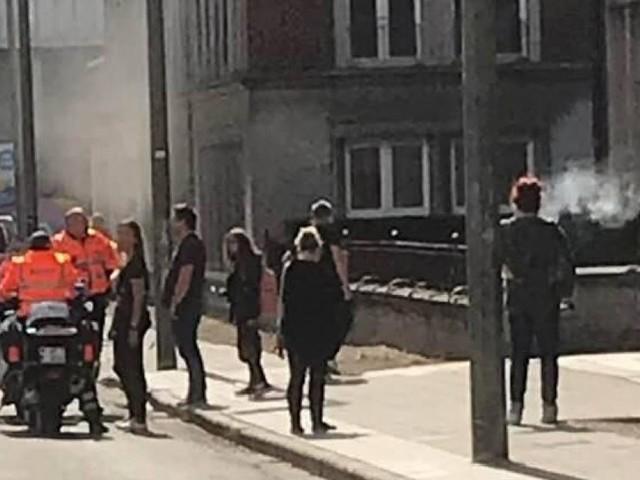 St-Ghislain: un incendie se déclare à l'institut Saint-Joseph