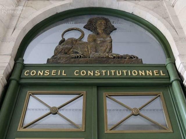 Une audience publique du conseil constitutionnel le 6 novembre à Pau