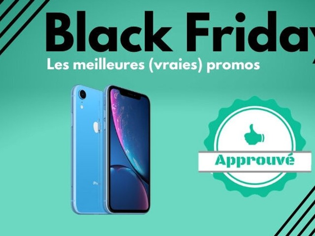 Black Friday: Les iPhone 11, Xr et 8 en promo sur Amazon, Fnac et Cdiscount