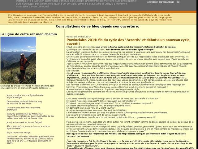 """Provinciales 2014: fin du cycle des """"Accords"""" et début d'un nouveau cycle, ouvert !"""