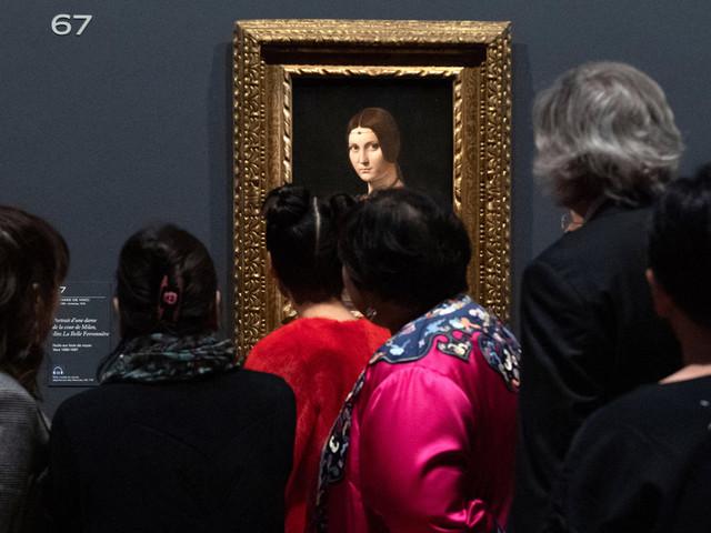 Au Louvre, l'exposition «Léonard De Vinci» a battu tous les records de fréquentation
